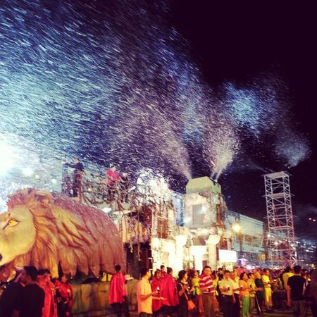 Snow in fire Chingayparade Chingay