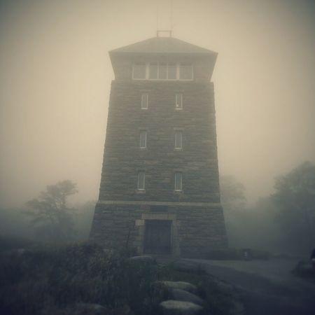 Bearmountain Tower Shroudedincloud
