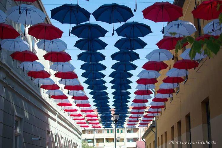 First Eyeem Photo Umbrellas Umbrellastreet Umbrellas In The Sky