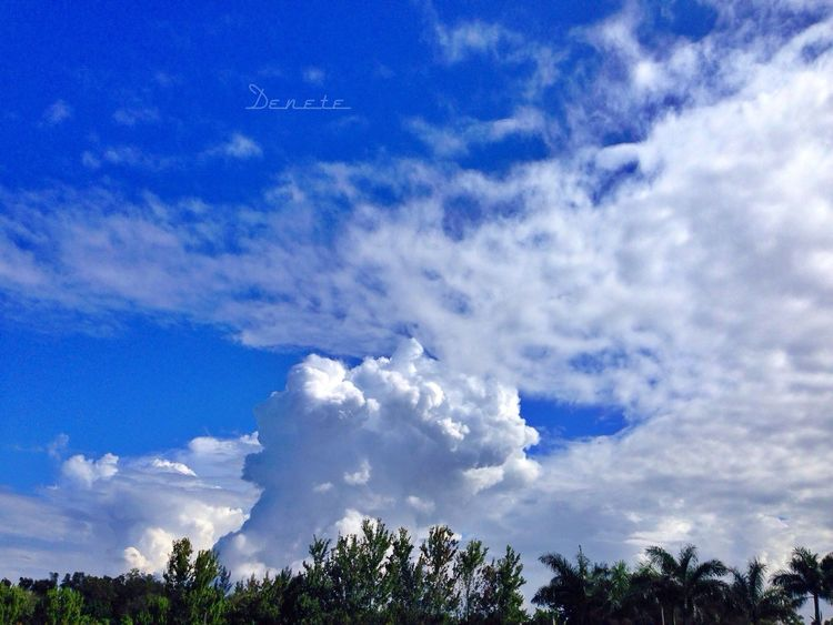 Sky Lovers Skyart Cloud Lovers Taken With Iphone 5