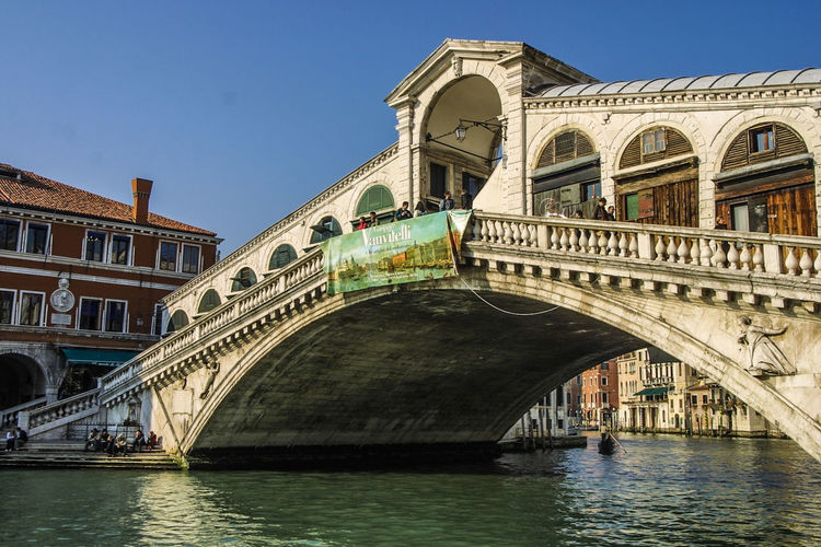 Venedig, Ohne Touristen, Lagune, Frühling, Venice, WithoutTourists, Springtime, City, Sea, Water, Historical, Old Town Arch Architecture Bridge - Man Made Structure Water