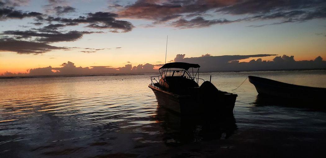 The Mobile Photographer - 2019 EyeEm Awards Water Nautical Vessel Sea Sunset Beach Fisherman Dawn Reflection Fishing City My Best Photo The Great Outdoors - 2019 EyeEm Awards The Minimalist - 2019 EyeEm Awards