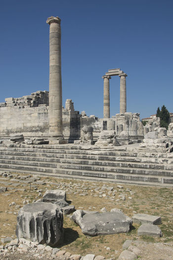 10 2017 Photo The Temple Of Apollo Ancient Ancient Civilization Archaeology Architectural Column Architecture Building Exterior Built Structure Day History Nature Old Ruin Outdoors Ruined Sky The Past Tourism Travel Travel Destinations Turkey Didim