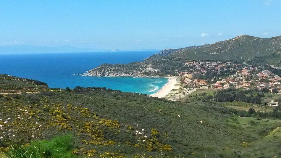 Sea Beach Tourism Scenics Horizon Over Water Beauty In Nature Nature Vacations Outdoors Water No People Sky Day Coast Coastline Sardinia Sardegna Sardinia Sardegna Italy  Holiday