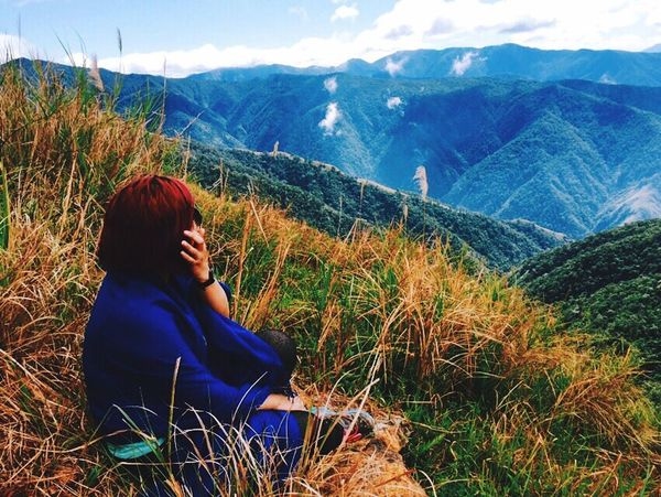 Relaxing Mountains Hello World Enjoying Life That's Me Eyem Philippines Self Portrait Trees On A Hike Individuality Solitude Serenity Mountain Mountain View
