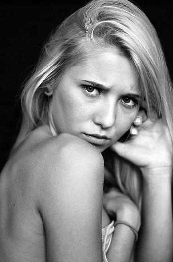 Ivanafarc Artistic ChrisDevour Selfish Look Beautiful Young Femme