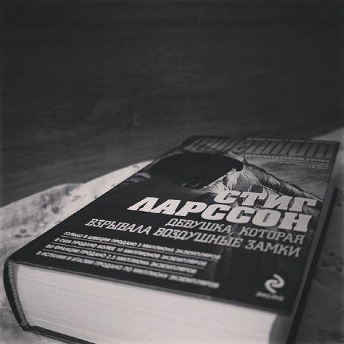 "BOOK OF THE DAY: Stieg Larsson ""Девушка, которая взрывала воздушные замки"". End of the story. Bookoftheday Books"
