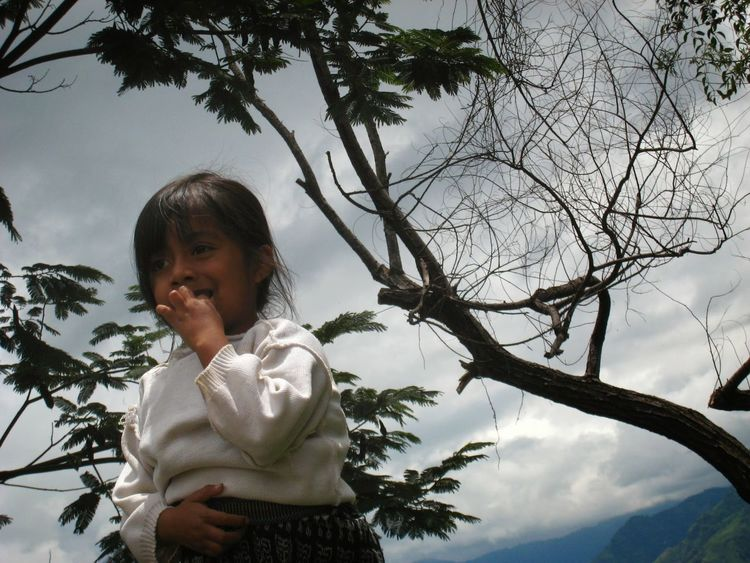 Happiness Lago Atitlán Guatemala Girl
