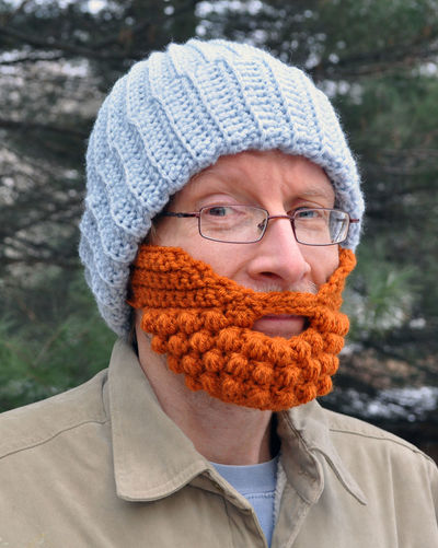 Headshot Portrait One Person Winter Warm Clothing Clothing Front View Looking At Camera Glasses Close-up Eyeglasses  Adult Focus On Foreground Cold Temperature Real People Mid Adult Knit Hat Human Face Beard Beard Hat Crochet Handmade Knitting Crochet Hat Funny Faces