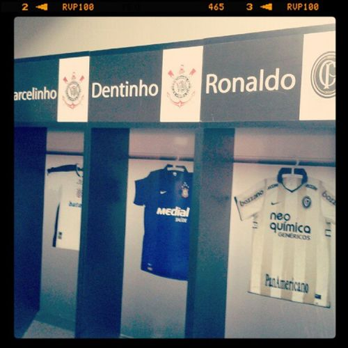 Craques!?! Os três!?! Corinthians Ronaldo Campeao Marcelinho Camisas Dentinho Timao