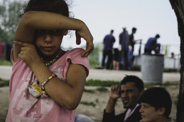 Refugee girl Boarders Crisis Crying Day Girl Outdoors Real People Refugee Refugees The Photojournalist - 2017 EyeEm Awards Young Women Camp The Photojournalist - 2017 EyeEm Awards The Portraitist - 2017 EyeEm Awards The Photojournalist - 2018 EyeEm Awards