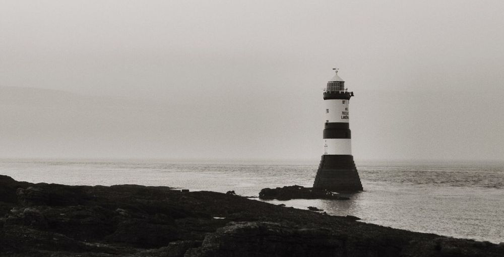 Lighthouse, Penmon, Anglesey. Lighthouse Penmon Anglesey North Wales Maritime Sea Sea And Sky Seascape EyeEm Nature Lover