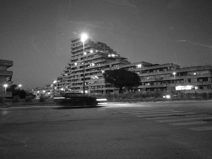Scampia Vele Battle Of The Cities Naples City Street City City Life Built Structure Architecture Monochrome Photography Film Gomorra capturing motion The City Light