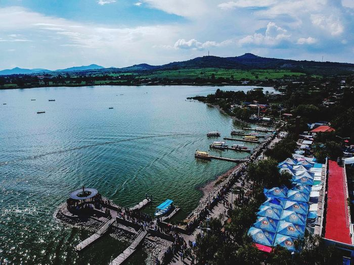 Quiet Moments Dronephotography Drone  Turismo Cajititlan Jalisco Jalisco Water Sky Cloud - Sky Nature Sea Day Scenics - Nature Outdoors Beauty In Nature Tranquility Travel