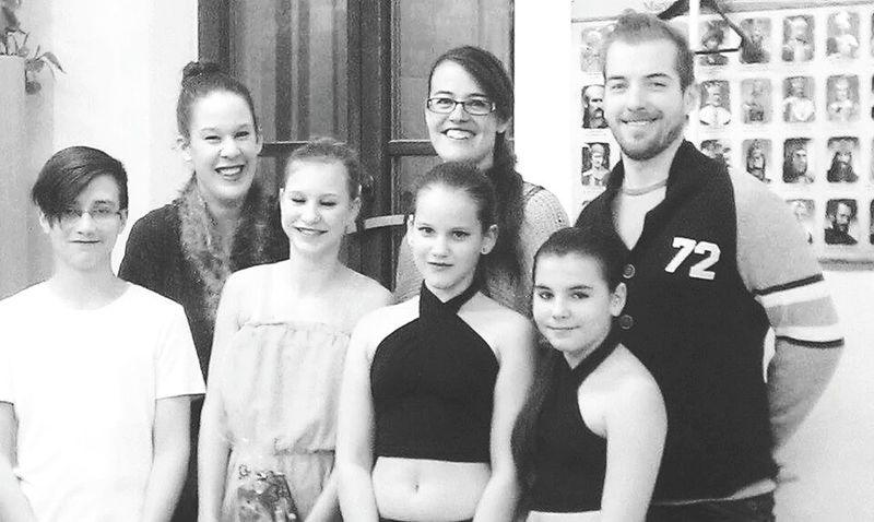 Dance team. A part..<3