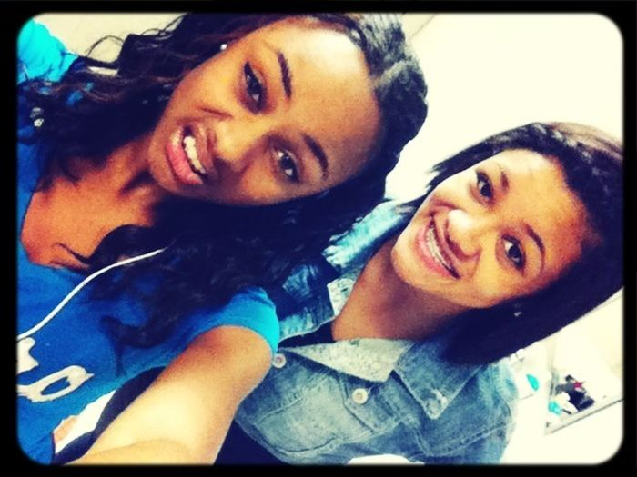 Me & Kyla The Other Day!!!