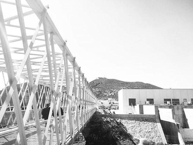 Blackandwhitephotography Streetphotography Bnw_life Bnw_maniac Bnw Blackandwhite Monochrome Mono Bridge Atalaya Cartagena SPAIN