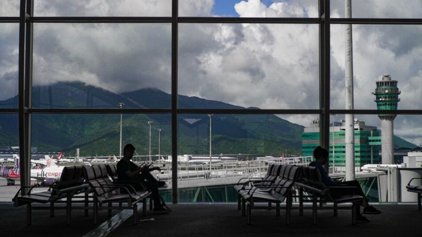 Waiting for a journey Chair NARITAAIRPORT Sky Window Live For The Story Sonyalpha EyeEm Best Shots Let's Go. Together. Lost In The Landscape