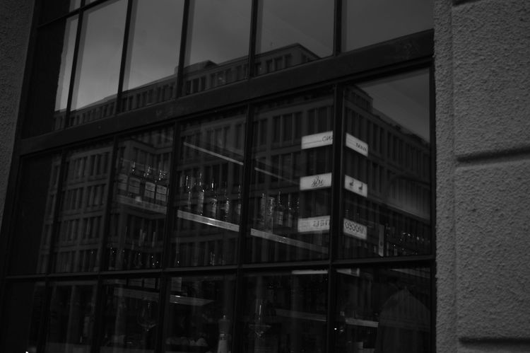 Architecture Black & White Building Exterior Built Structure City Glassreflections Monochrome Photography Nikonphotographer Nofilter Outdoors Prague Czech Republic Prague♡ Reflections Urbanphotography Window Welcome To Black The Street Photographer - 2017 EyeEm Awards The Architect - 2017 EyeEm Awards Live For The Story