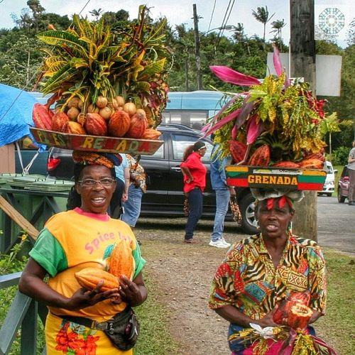 Grenada Mama Carebean Costa Mediterranea Cruise 2012 holiday travel memories carebean funny people color
