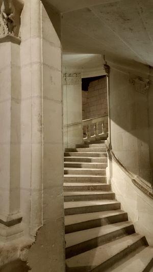 Chambord Escalier En Colimaçon Chateaux