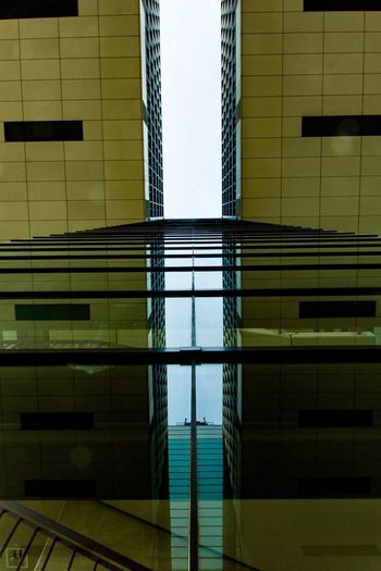 Crane house EyeEm Best Shots EyeEm Gallery EyeEm Selects Architecture Built Structure No People Reflection Indoors  Pattern Day Low Angle View Directly Below Swimming Pool Building Full Frame Flooring Backgrounds Wall - Building Feature Nature Metal Water Railing Ceiling