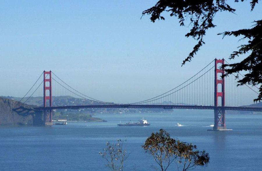 Cable Cars City By The Bay Five Sisters Golden Gate Bridge San Francisco San Francisco Bay Bridge City Scape San Francisco Bay San Francisco Skyline Suspension Bridge Travel Destinations