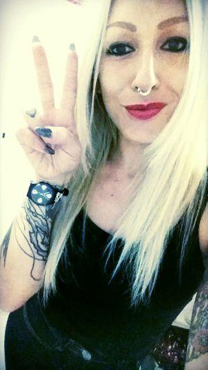 Swatch on my wrist That's Me Swatch Swiss Watches Limitededition Watch Septumpiercing  INKEDGIRL Blondiegirl Fashion Photography Fashionstyle Nailart  Work Myshop Swissmade Swissgirl Accessoryoftheday Blackeyes