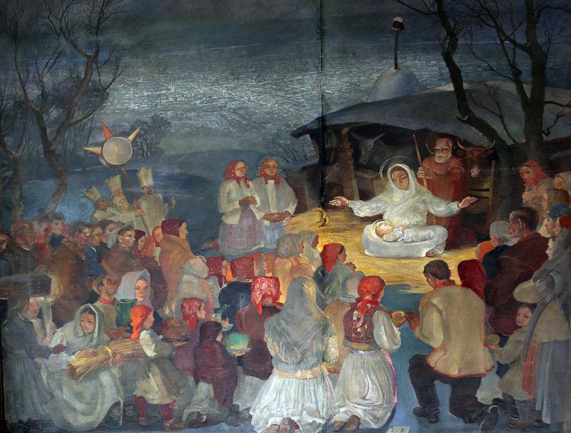 Nativity Scene, birth of Jesus Bethlehem Birth Celebration Christianity Christmas Creche Croatia Faith Family Holy Jesus Joseph Manger Nativity Peace Religion Religious  Sacred Saint Savior Spiritual Virgin Mary Worship
