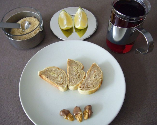 Bejgli Breakfast Breakfast Breakfast Time Cake Culinary Dessert Food Food And Drink Food Photography Foodphotography From Kriszta's Kitchen Gastronomy Lemon Home Is Where The Art Is Plate Ready-to-eat Served Sugar Sweet Food Tea Tea Time Teatime Walnut Walnuts