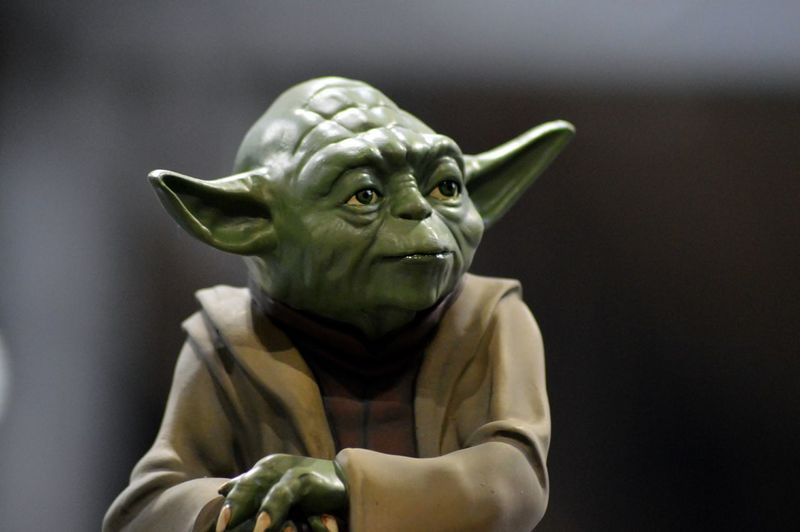 Green Hello World HelloEyeEm Hope Jedi MCM Comic Con Star Wars Taking Photos WOW Yoda Yoda Starwars Comic Con Enjoying Life Figurine  Jedimaster Look My Photography Snapshot Starwars