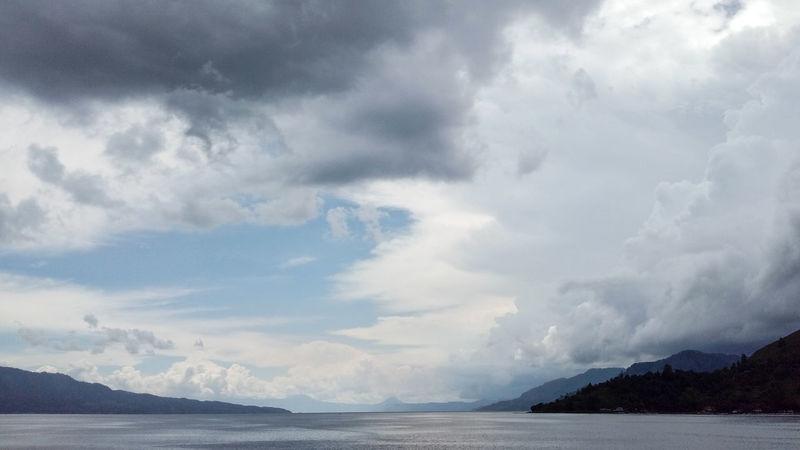 Cloud - Sky Sky Outdoors Cloud Clouds And Sky Lake Danau Toba INDONESIA Hills Nature Panorama Landscape