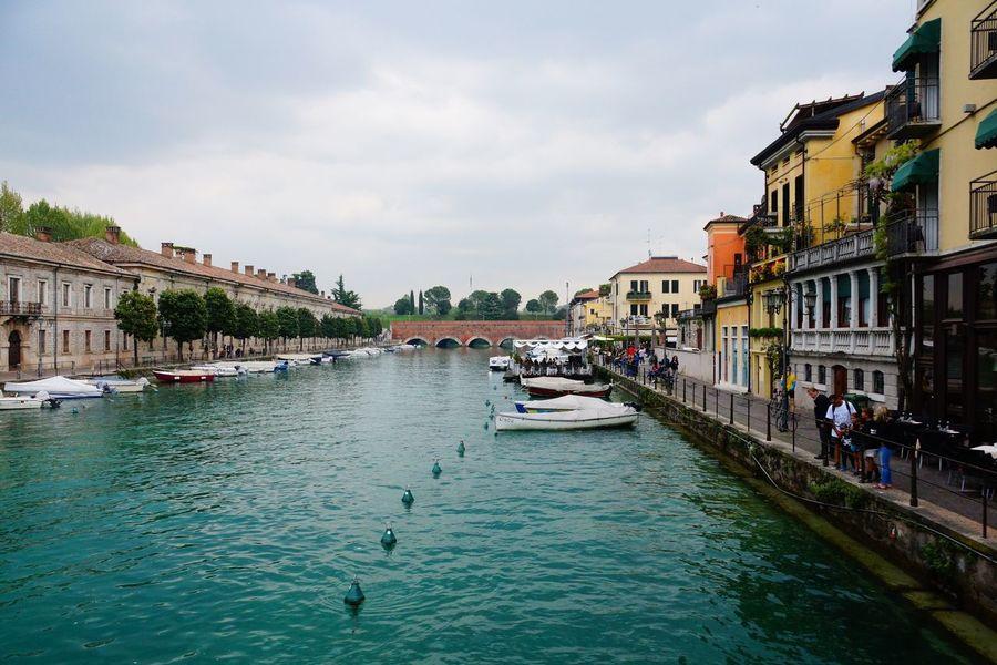 PeschieraDelGarda River Italy