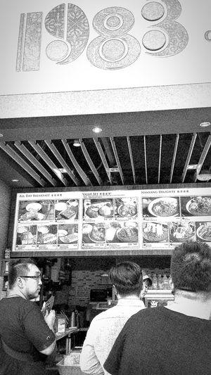 Nanyang Cafe Marina Bay Sands Mbs Singapore Monochrome Monochrome Collection Eyeem Monochrome