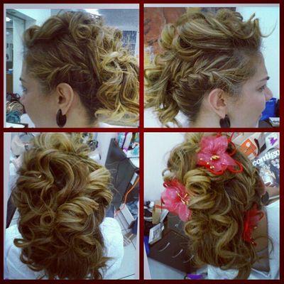 Fashionismo Fashionhair Hairdesing Coiffeur salon penteados