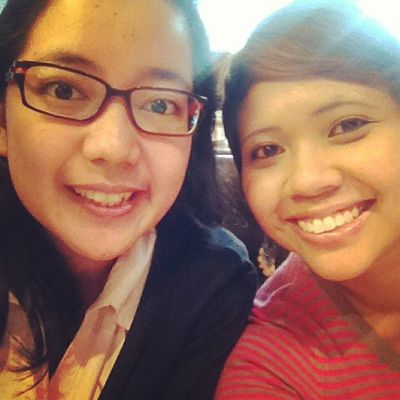 We are at business department lunch! :) @ribkakaka