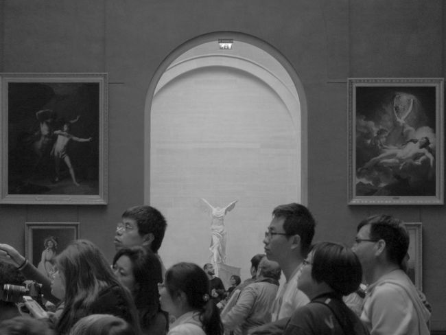 Architecture Art And Craft Arts Culture And Entertainment Blackandwhite Documentary Exhibition Group Of People Human Representation Indoors  Lifestyles Men Museum Paintings People Real People Women