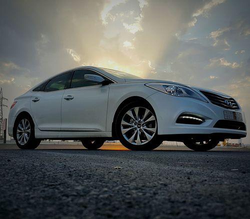 Hyndai Car Azera Saudi Arabia Hail  Cars First Eyeem Photo