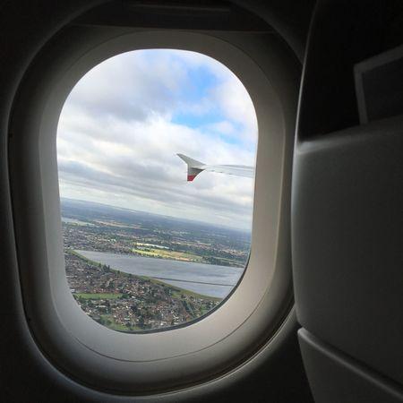 London Plane British Airways View Sky