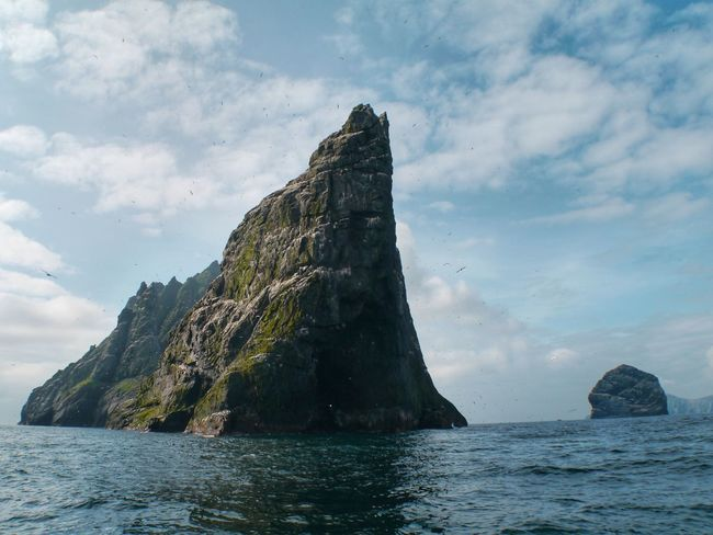 St.Kildaaaaaaaa... Outer Hebrides Scotland World Heritage St Kilda Sea Rock Formation Rock - Object Sky Beauty In Nature Tranquility Water Nature Scenics Waterfront No People Tranquil Scene Outdoors Day Horizon Over Water