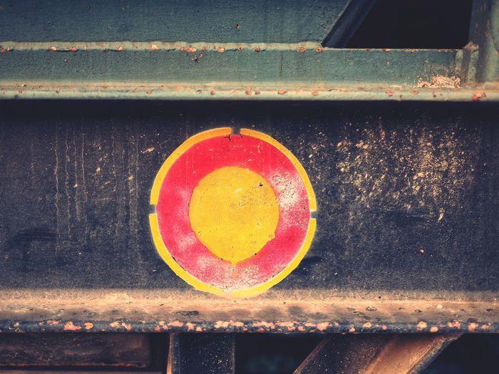 High angle view of red lemon on wood
