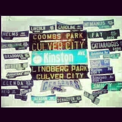 This is where it all started! Culvercity KinstonBloCC Memories MyUptown . ThreeOneOhh TheBlock HeartOfTheHood StartedFromTheBottom love hate MidnightOwls OneTimeBustAYou IRemeberWayBacKWhen Hustler StreetStyle SoBackTeam CityOfNoPity ImHoodForever Cheeaay