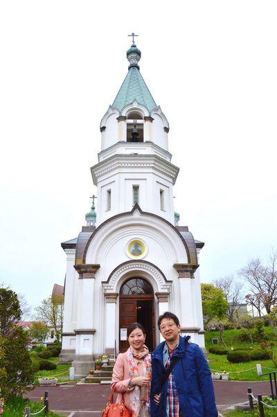 函館ハリストス正教会 Hakodate,Hokkaido,Japan Travel 20130525
