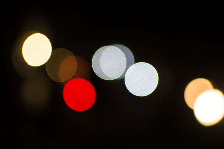 Abstract Bokeh Bokeh Balls Bokeh Photography Bokehlicious City Life Colorful Defocused Geometric Shape Illuminated Light - Natural Phenomenon Night No People Outdoors