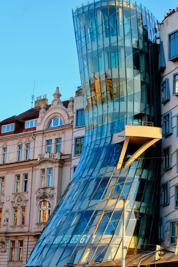 Built Structure Architecture Building Exterior City Building Low Angle View Sky Glass - Material No People Window Modern Day Office Building Exterior Office Nature Clear Sky Blue Reflection Outdoors Skyscraper