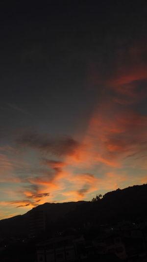 Cloud - Sky Sunset Dramatic Sky No People Outdoors Tocadotatu Itajubá Dajanelalateral