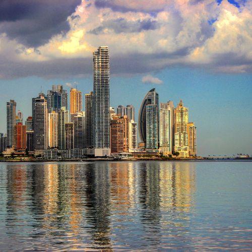 Panamá Panama City Cinta Costera Caribbean Sea Caribe Turismo Turism Mar Sea And Sky Ocean View Metropolis Metropolitan Edificio Pty Pty507 Visit Panama