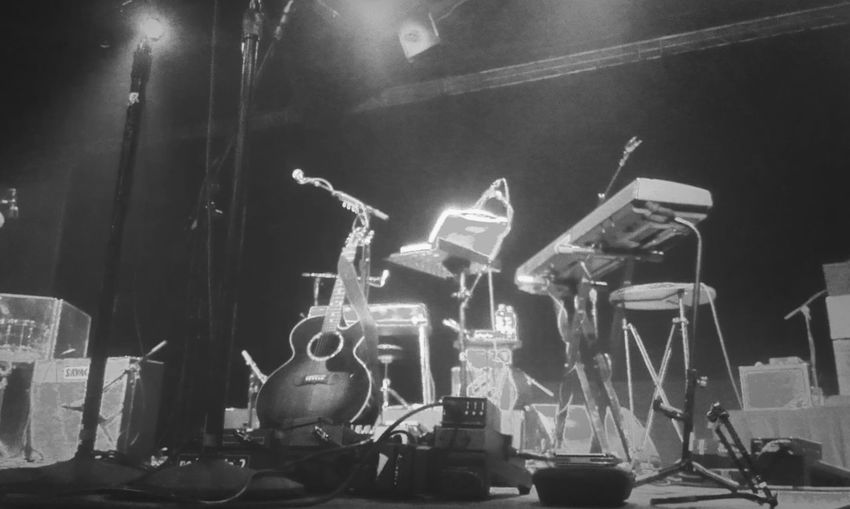 Ingrid Michaelson!! Live Music Music Keyboard Guitars On Stage Drums Ingridmichaelson Black And White