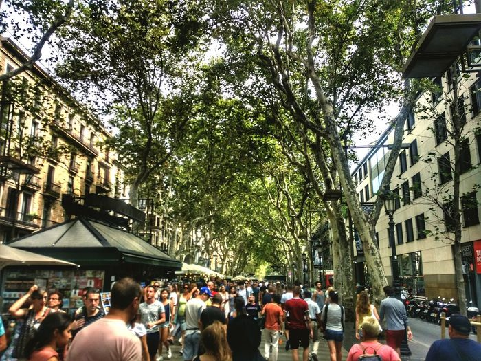 Rambla De Las Flores Rambla De Catalunya People Architecture Large Group Of People Arts Culture And Entertainment City Barcelona #urbanana: The Urban Playground