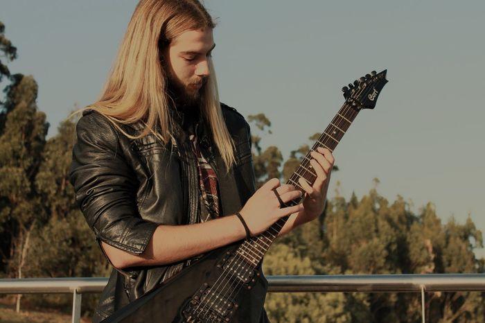 Iridium. Metal Metalhead One Person People Guitar Music Musician Sky Love Yourself The Graphic City EyeEmNewHere